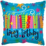 "BLOW CANDLES BALLOON 18"" 17720-18"
